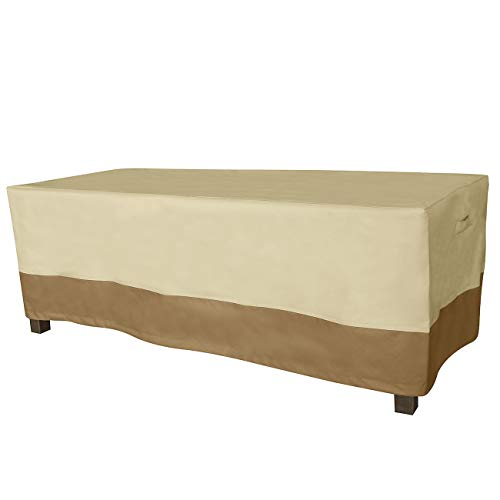Rectangular Patio Coffee Table Cover Durable And Waterproof Coffee Table Cover Table Covers Patio Furniture Covers
