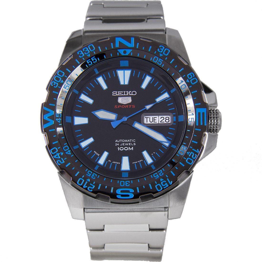 SRP543J1 SRP543 Seiko 5 Sports Automatic Watch Seiko 5