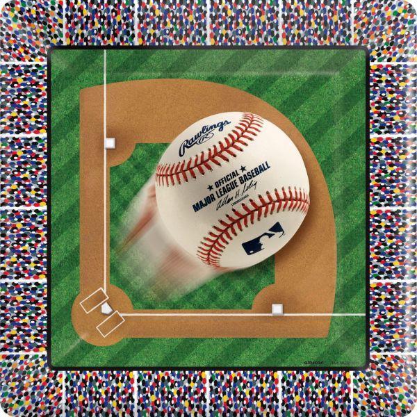 MLB Square Platter 12in