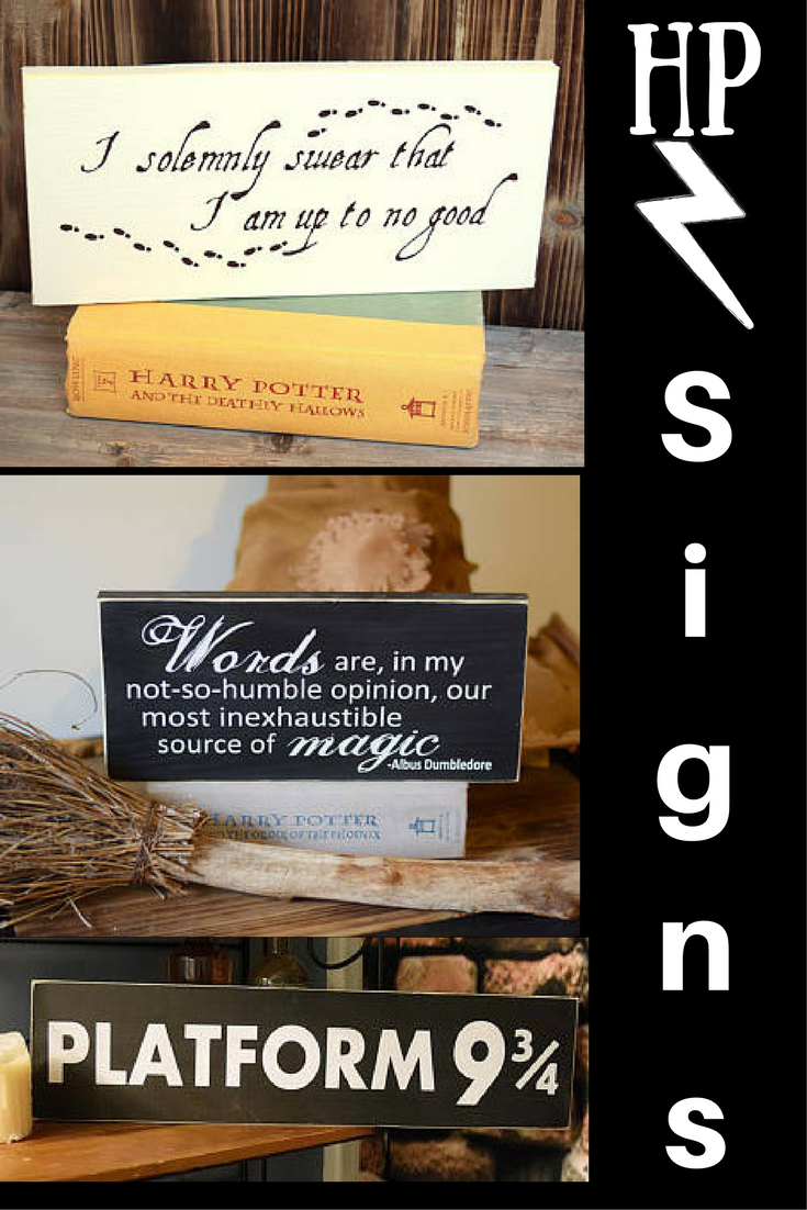 I Am In Love With All These Harry Potter Signs Maybe I Ll Just Buy One For Every Room Love The Quotes For Harry Potter Sign Boys Room Decor Little Girl Rooms