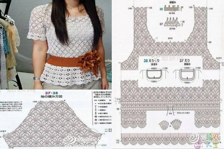 Crochet Lace Top Pattern Crochet More Crochet Pinterest