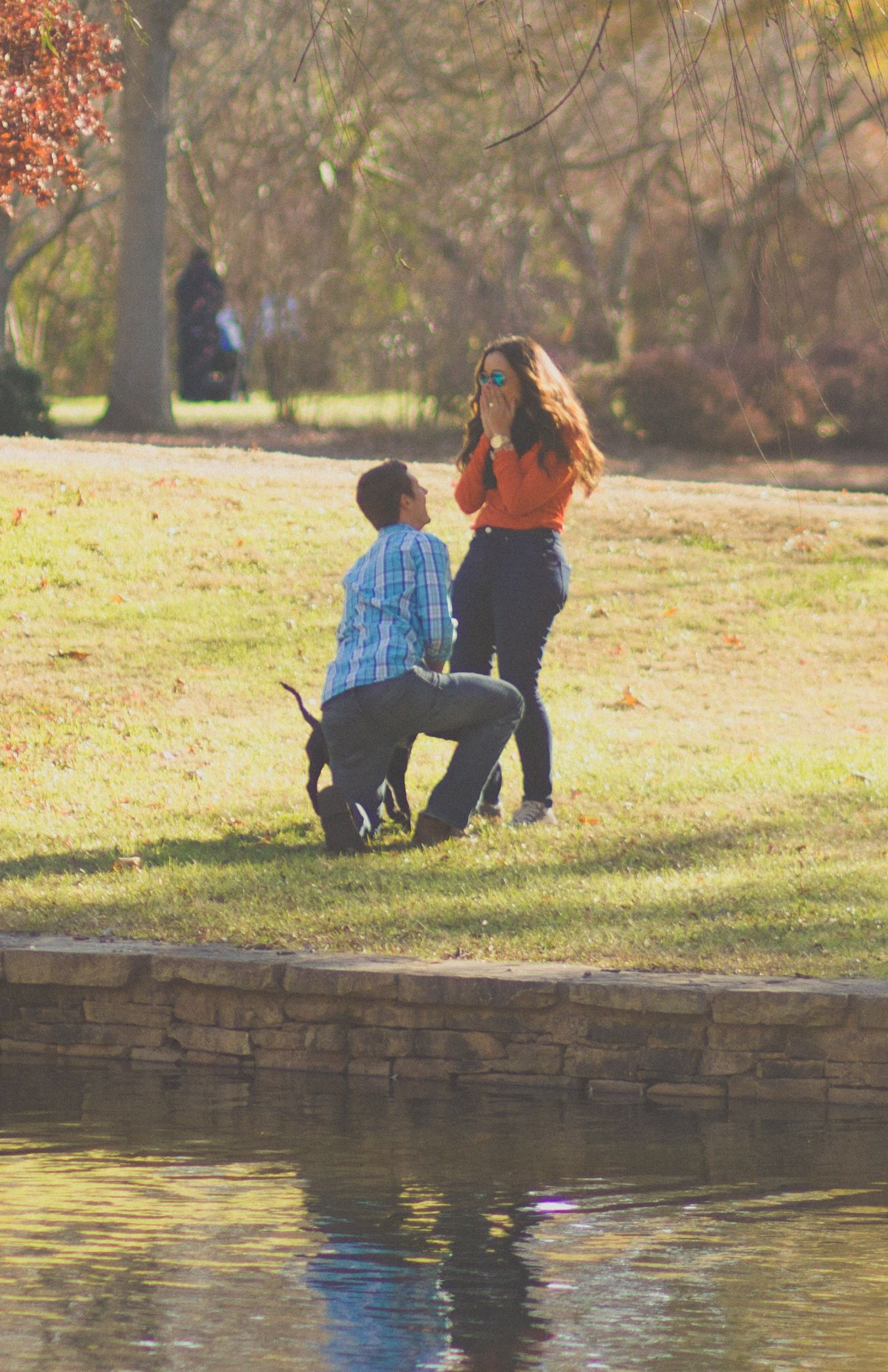 Surprise engagement at Freedom Park!