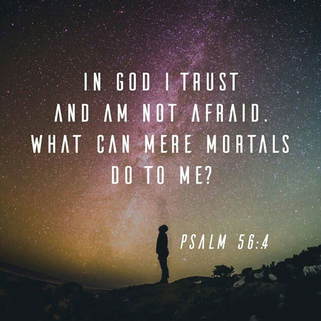 God's Guidance Quotes In God I Trust And Am Not Afraidwhat Can Mere Mortals Do To