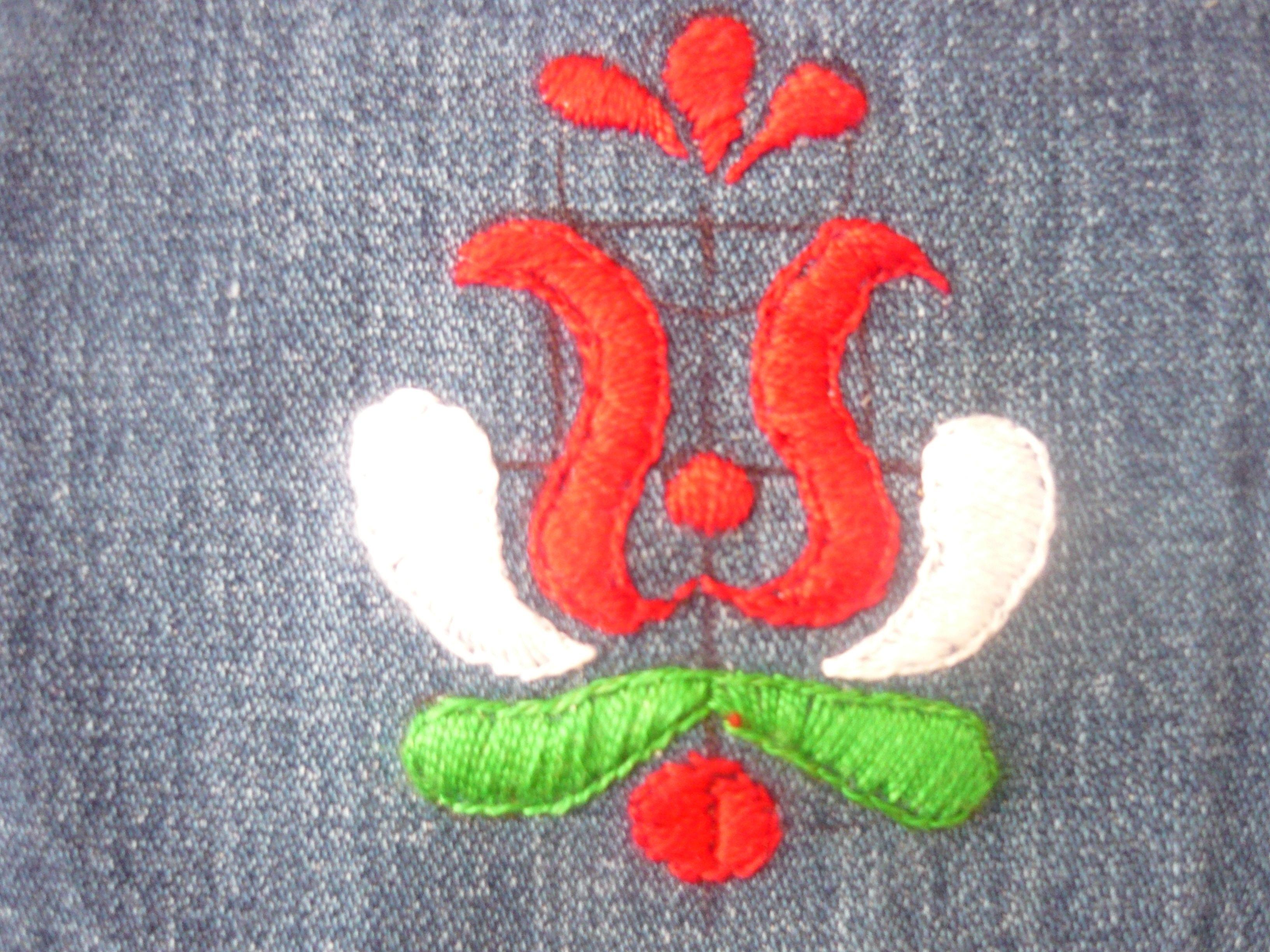 8703fcd37d ó kalocsai minta / an old kalocsa pattern | Hímzések / Embroideries ...