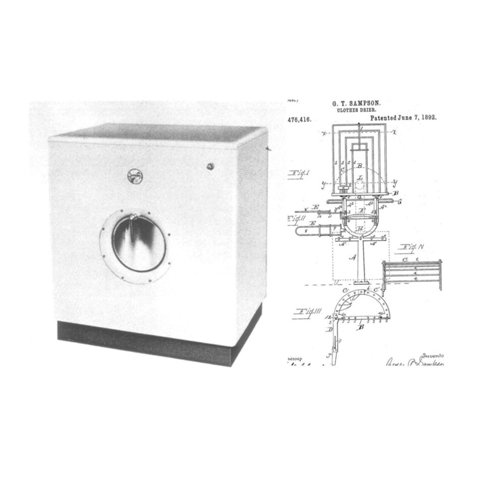 George T Samon Clothes Dryer ~ Need information on george t sampson inventor