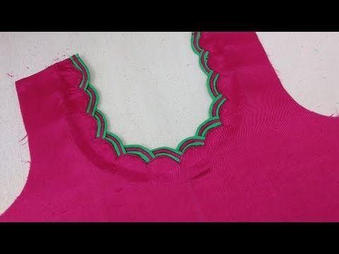 1eb8c52a29a927 Latest Unique Dori Design (Easy Tricks) Cutting And Stitching - YouTube