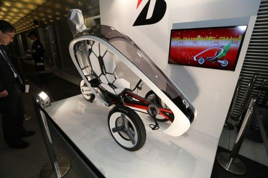 Bridgestone's pedal-electric trike looks sharp, and might reach