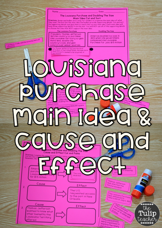 what was the effect of the louisiana purchase