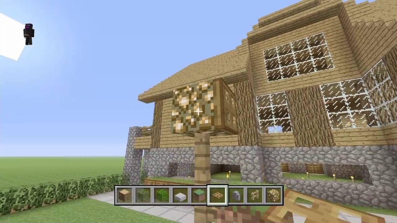 Minecraft: Construction Handbook Wooden House/Decorative Garden