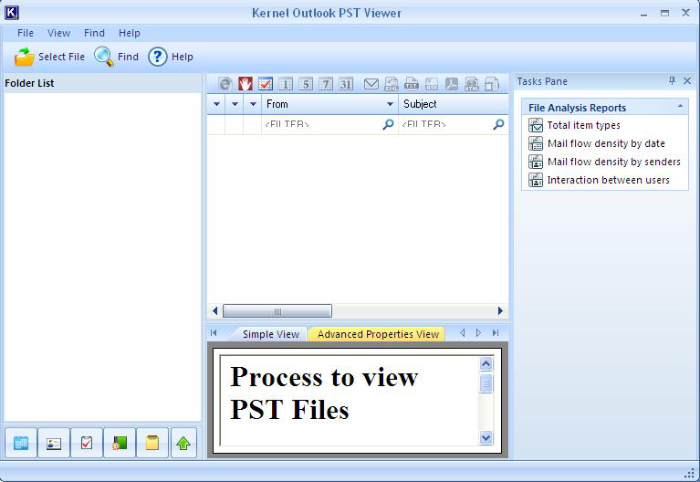 Software Review Kernel Outlook Pst Viewer Outlook Viewers Software