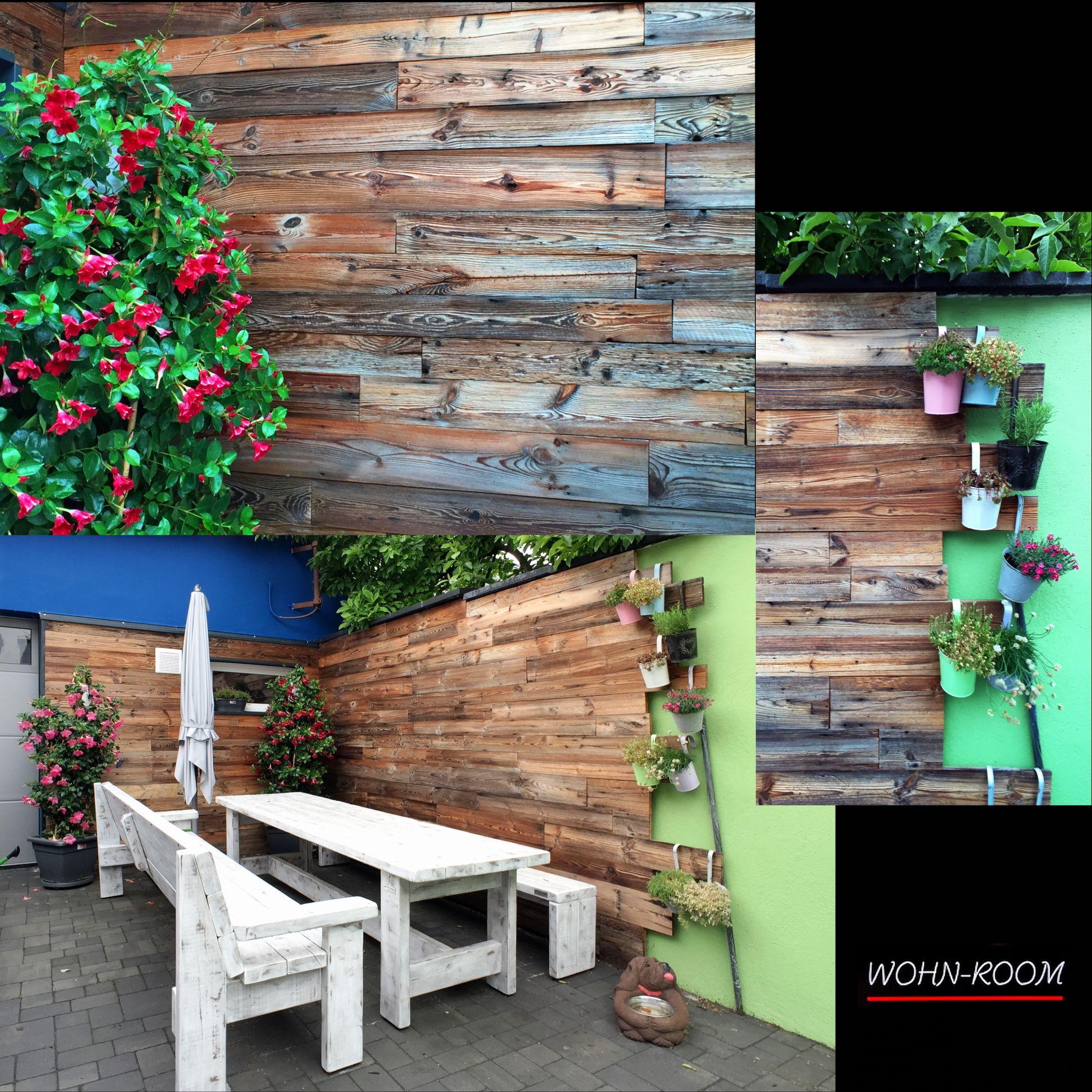 Aussenanwendung Unseres Scheunenholz Scheunenholz Altholz Wandverkleidung Wandverkleidung Holz