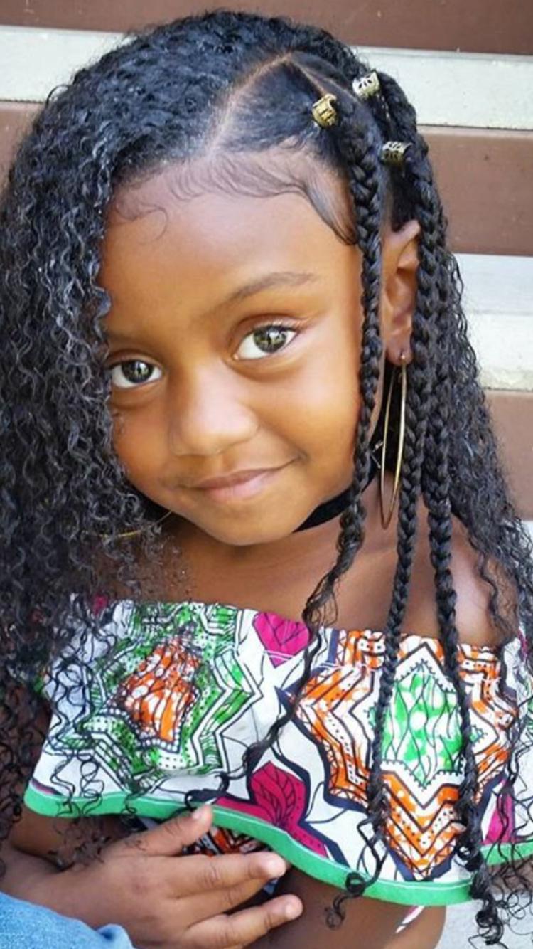 Pin by daniela viafara on amor pinterest kid braid styles kid
