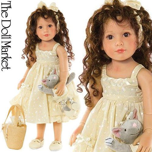 18 INCH HEART AND SOUL LAURA PLAY DOLL- KIDZ N CATS LAURA PLAY DOLL- 18 inch Madame Alexander Laura Play Doll BY THE DOLL MARKET
