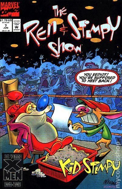 Ren And Stimpy Show 1992 Comic Books Rare Comic Books Comics Comic Books For Sale