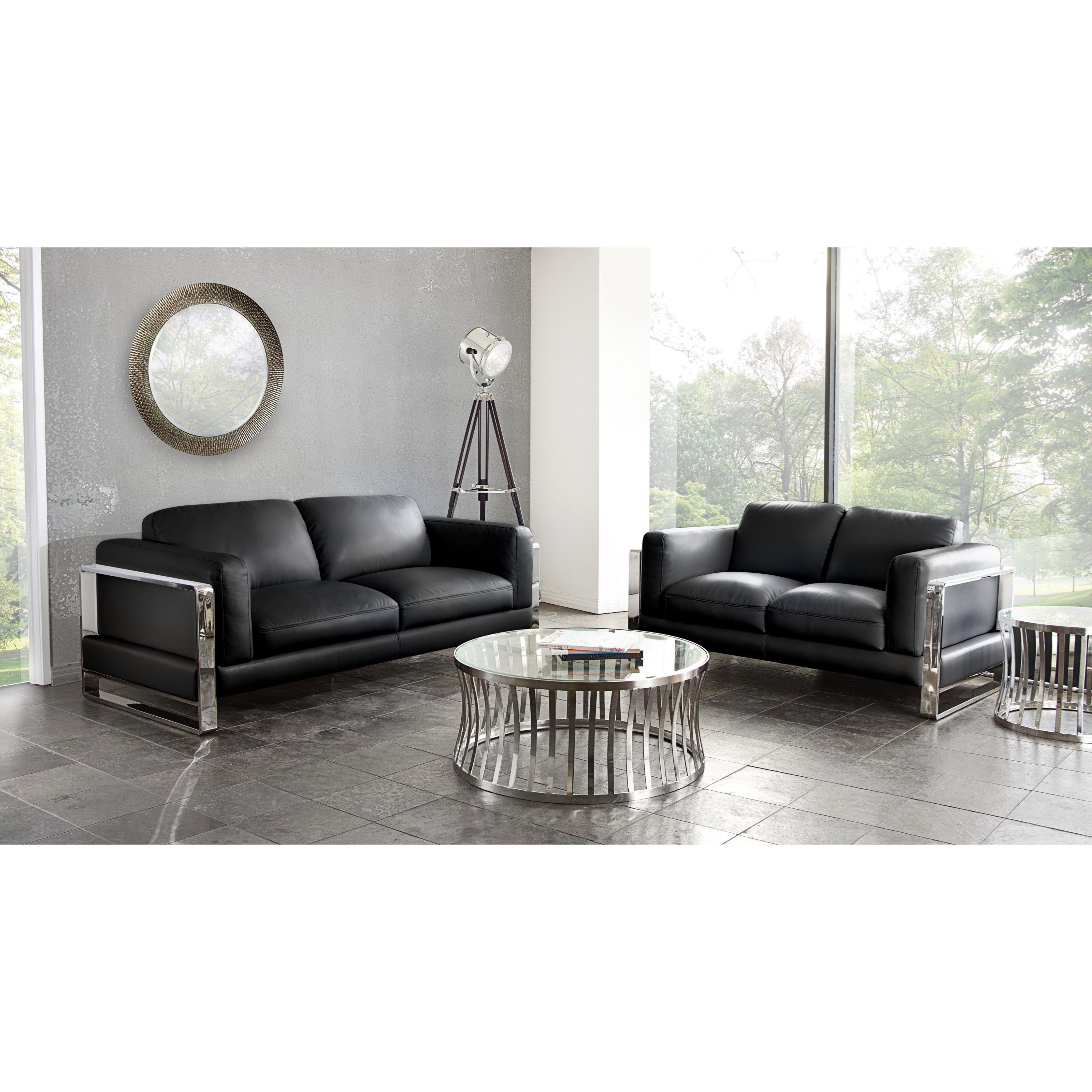Annika Sofa and Loveseat Package by Diamond Sofa