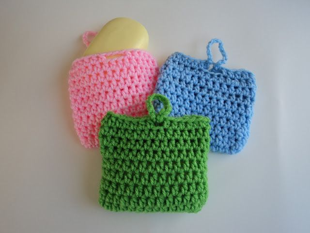 10 Minute Scrubber...my mom used to make these and put all the small bits of soap bars in...