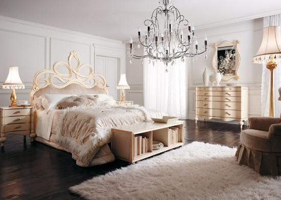 Prabangus klasikinis interjeras Domus galerija Bedroom - schlafzimmer barock
