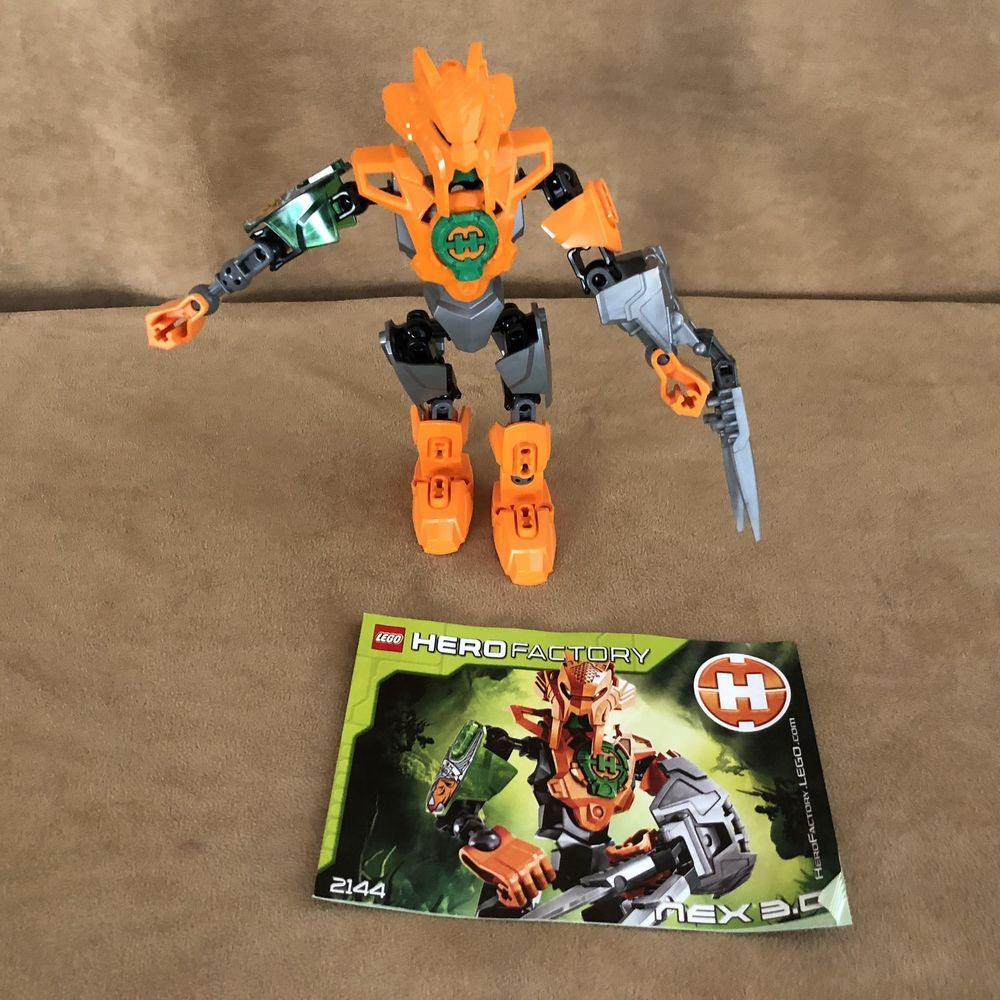 2144 Lego Hero Factory Nex 30 Complete Bionicle Figure Instruction
