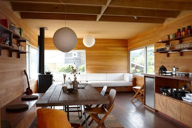 Why You Should Live In A Small House, Te Modular Bach, Great Barrier Island