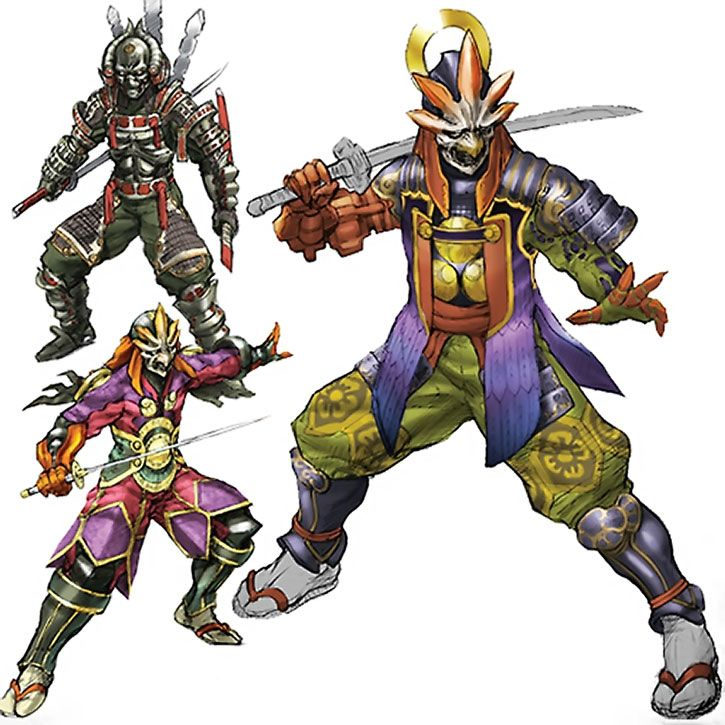 Warriors Orochi 4 Soul Calibur: Yoshimitsu With The Tengu Mask Outfit