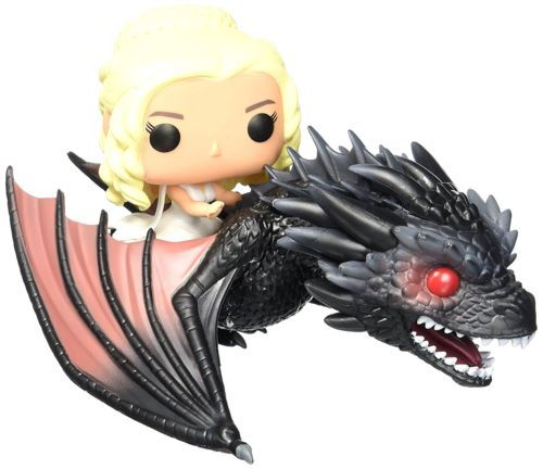 Pop game of thrones #rides daenerys and drogon number 15 #character #action figur,  View more on the LINK: http://www.zeppy.io/product/gb/2/122304905494/