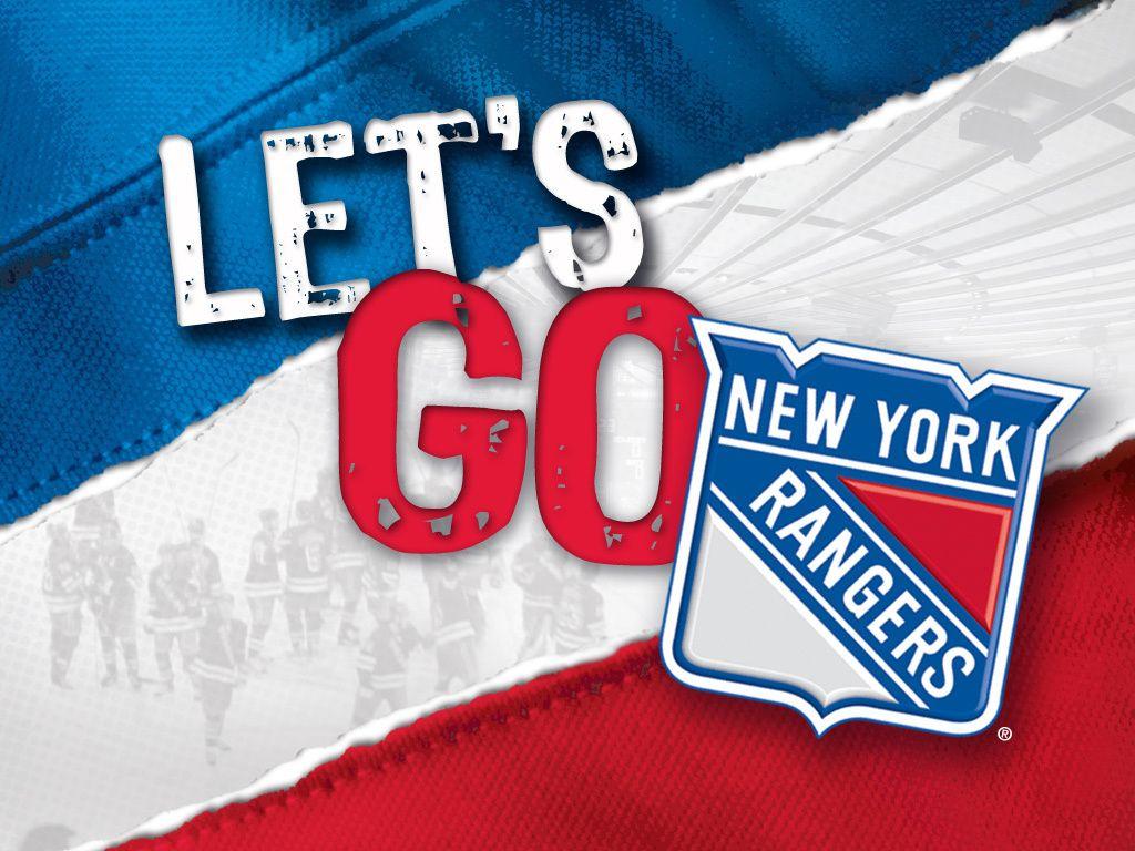 Let's Go Rangers Hockey New York Rangers Pinterest
