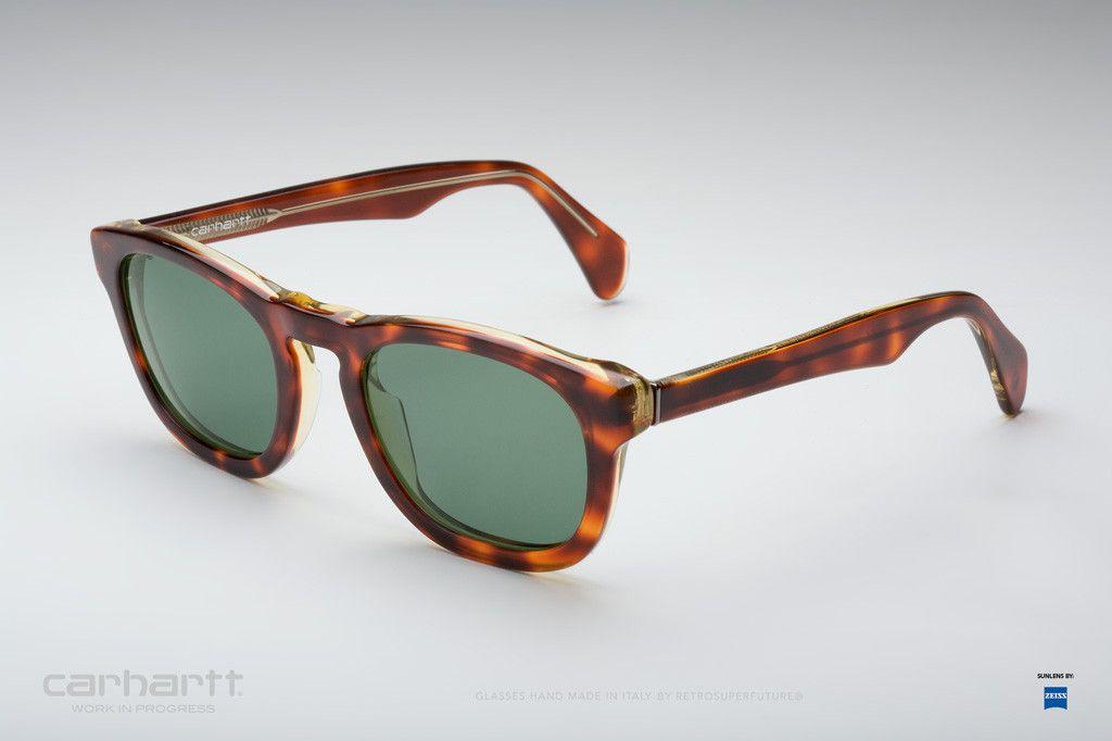 Retrosuperfuture stokely havanayellow sunglasses