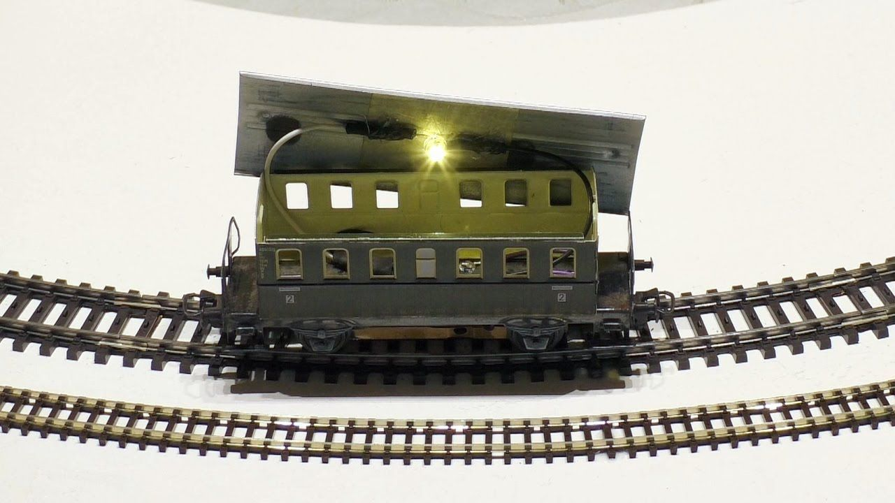 Marklin H0 Led Beleuchtung In Personenwagen Einbauen Modelleisenbahn 1 Modelleisenbahn Led Eisenbahn