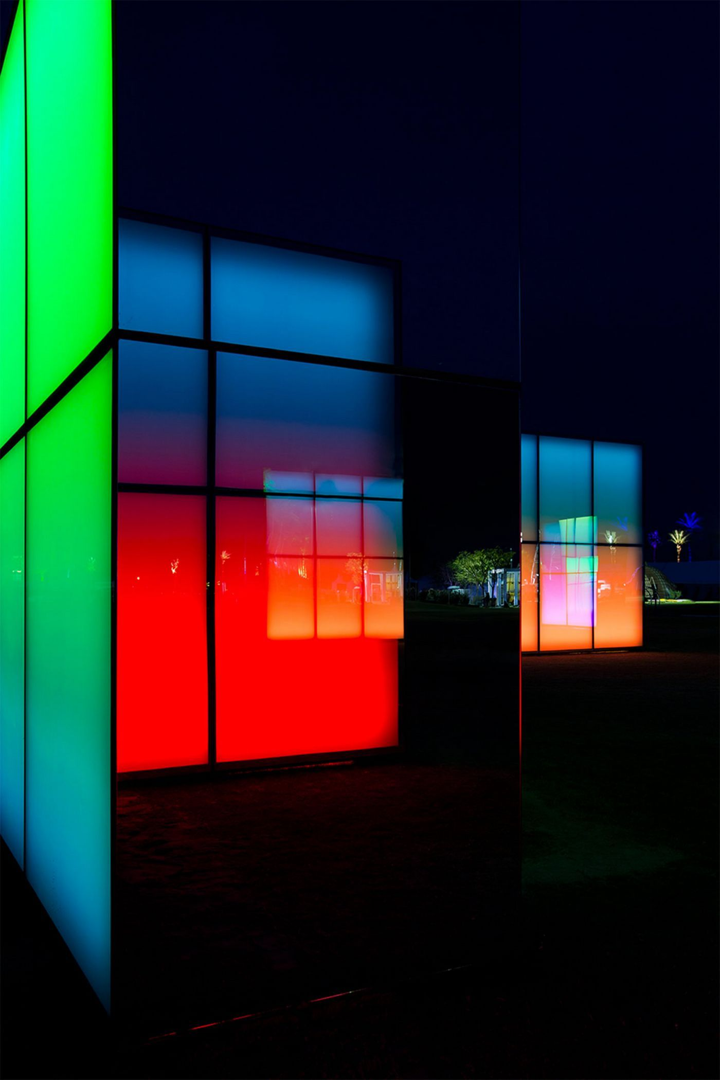 Light Based Project Lucid Stead By Artist Phillip K Smith