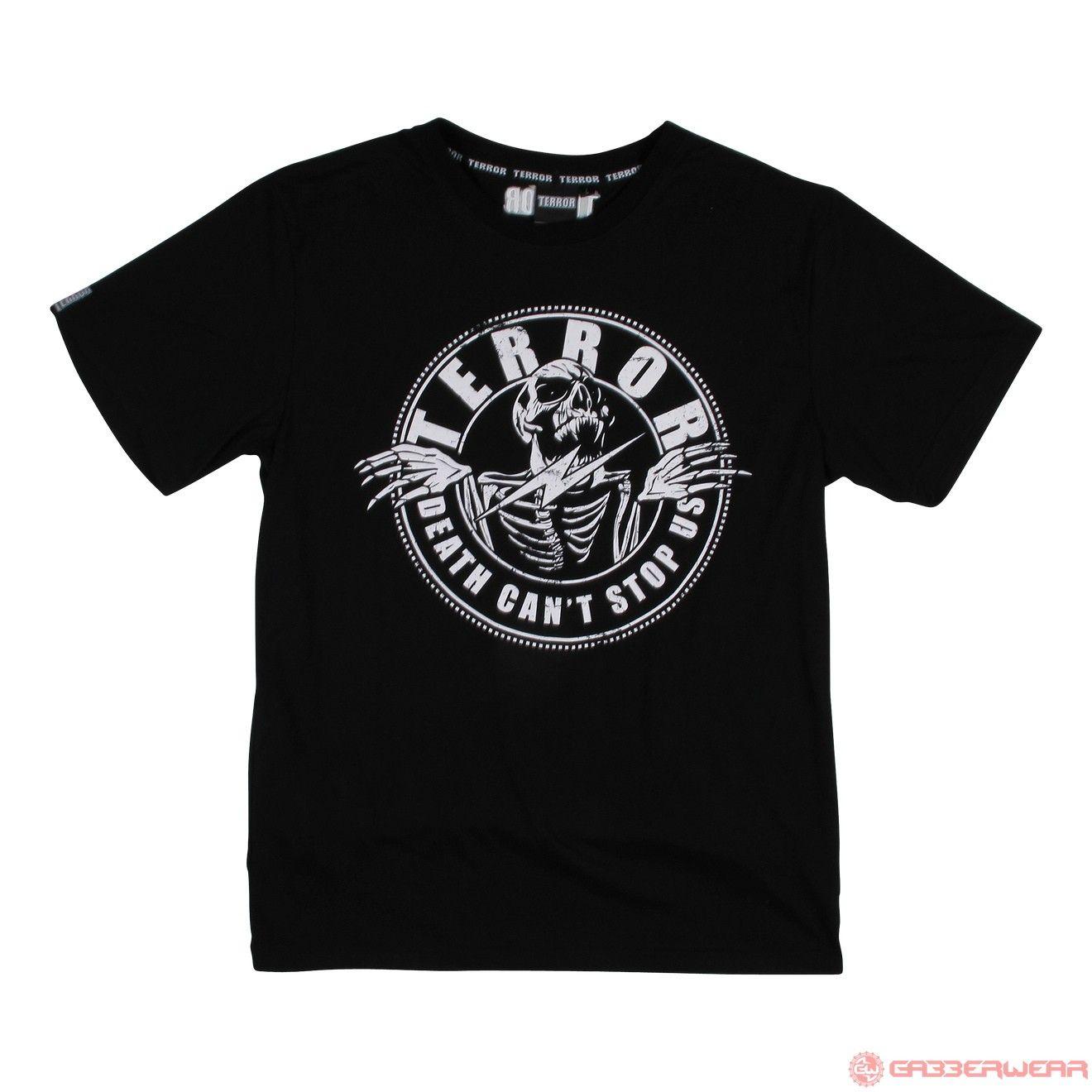 Terror T-Shirt Death (Black) | 805-011-050