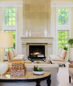 Limestone Fireplace Mantel Design Ideas Pictures Remodel And Decor Transitional Living Rooms Transitional Home Decor Beautiful Living Rooms