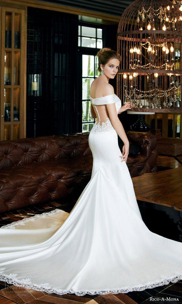 Rico A Mona 2017 Resort Collection Wedding Dresses