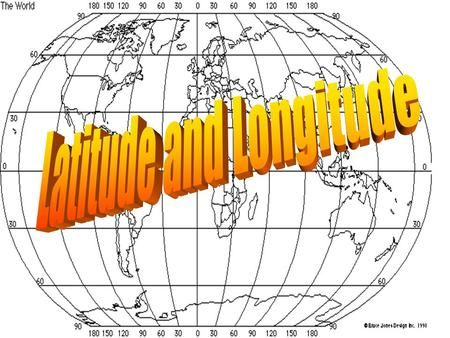 Latitude And Longitude Earth And Space Science Longitude Lines Of Longitude