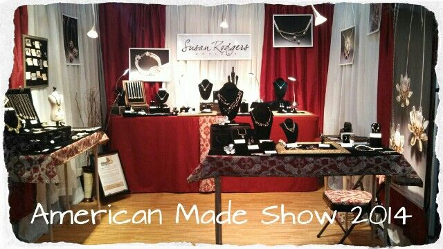 Ready to show my new designs at the Buyers Market of American Craft!