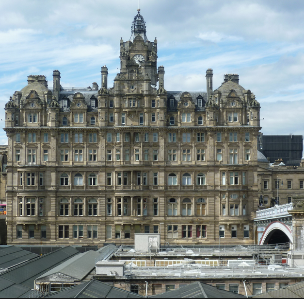 Former North British Hotel Above Waverly Rwy Station Where We Arrrived In Edinburgh The Bathtub In There Was Huge Europe Hotels Travel Canada Travel
