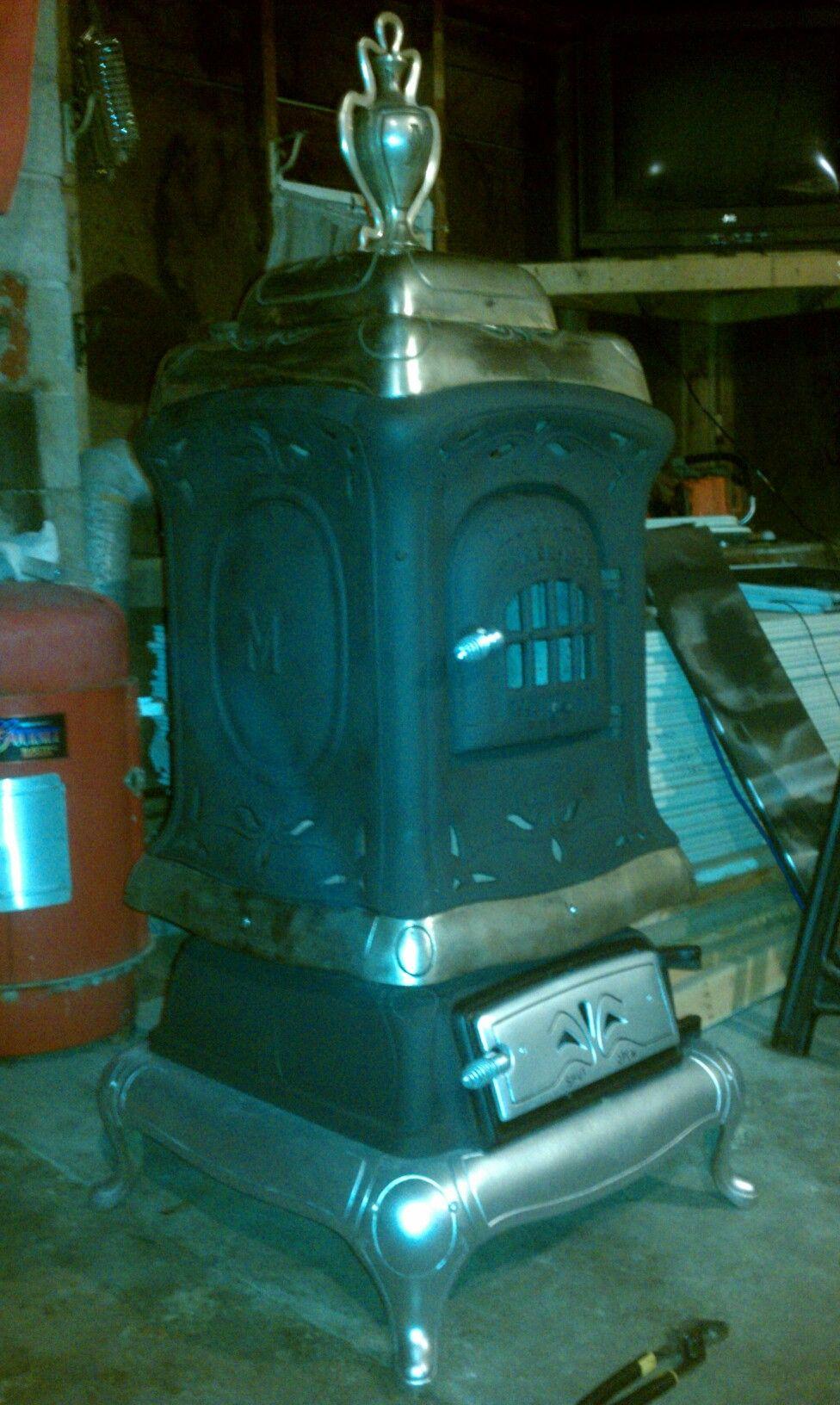 Moore brothers stove co. Joliett, Ill. | Wood stoves | Pinterest ...
