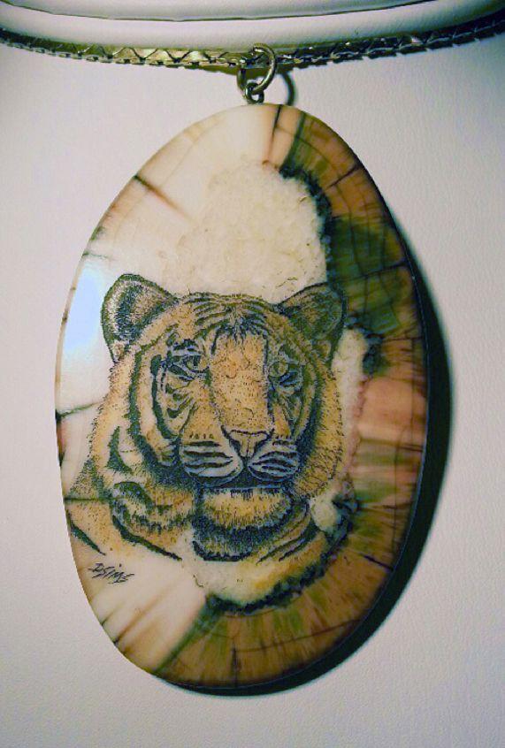 Alaska Scrimshaw Jewelry |     Scrimshaw Art Found Dennis Sims | The