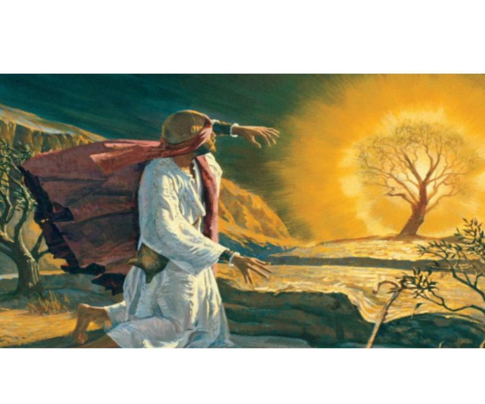 Jewish Biographies: Moses and Joshua | Burning bush ...