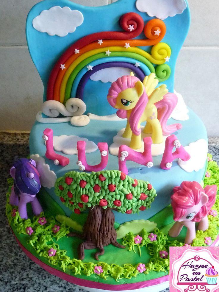 My Little Pony Cake Ideas Ponies Cake Twilight Sparkle Pinkie Pie