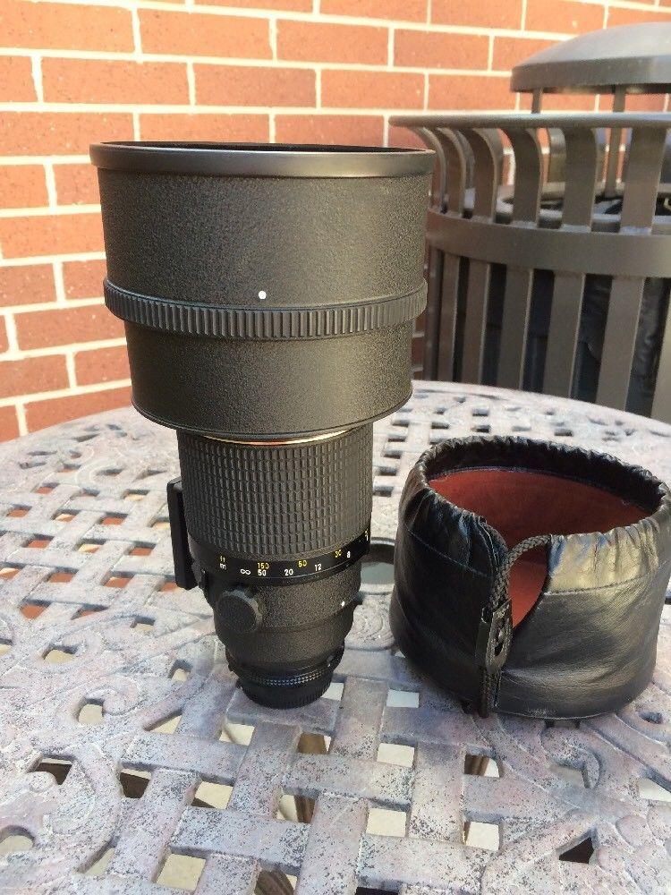 Nikon Nikkor 200mm F2 Ed If Ai Lens Nikon F3 Cameras A