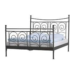 Ikea Noresund Bed It Was Cool When I Bought It When I Was 20 Trying To Find Something To Do To It So I Like It Bett Ikea Bed Frames Black