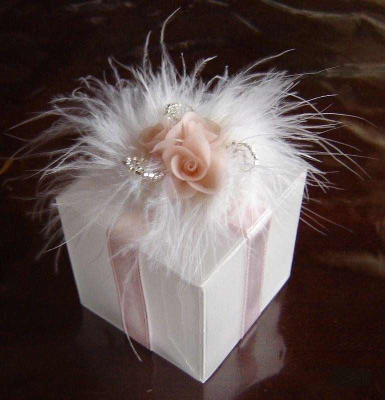 Wedding Favor Box Design Favour Box Decor Ready To Use Set Of 12