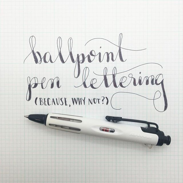 And Modern Calligraphy Is That There Are Really No Rules One Medium Better Than Another You Can Use So Many Different Types