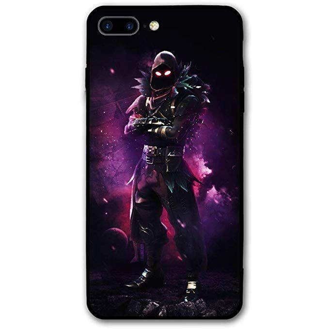kgtbvkg iphone 7 plus case raven fortnite battle royale 3d full print protective phone case - lil pump fortnite phone case