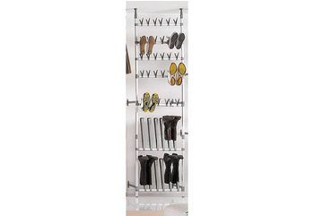 heine home Schuh-/Stiefelregal, variabel für 89,90€. Aus hochwertigem, eloxiertem Aluminium, In der Höhe und Breite verstellbar bei OTTO