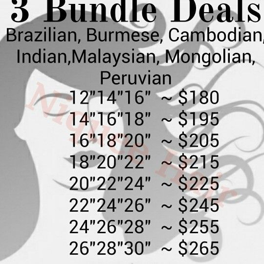 Get your bundles now @ niqueehair.bigcartel.com  Straight, Natural Wave, Bodywave, Deep Wave, Deep Curly, Loose Wave. Inquiry: niqueehair@gmail.com