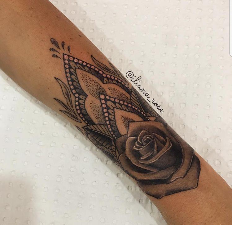 mandela with rose on wrist tattoo inkspiration. Black Bedroom Furniture Sets. Home Design Ideas