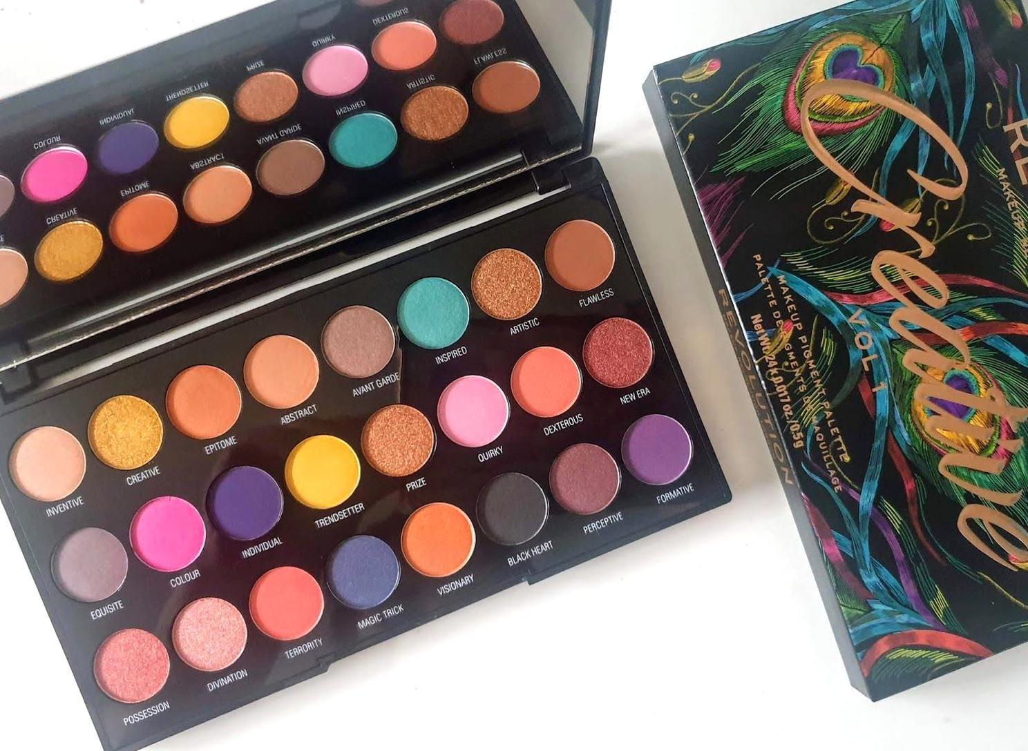 Makeup Revolution Creative Vol 1 Palette Review Moonlight