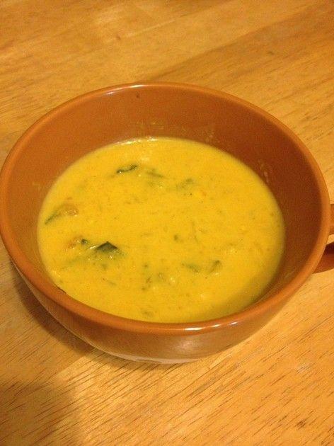 カボチャ スープ レシピ 人気