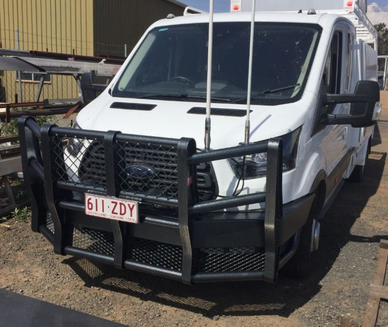 Capture Ford transit, Truck accessories
